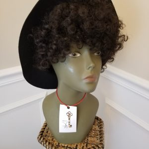 "Janelle Monae Official Brim Style / 12"" Kinky Wave"
