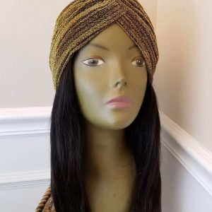 Gold Turban / 12' Body Wave